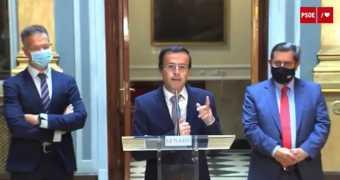 M. Ángel Gallardo presenta en el Senado el Plan de Lucha contra la Exclusión Financiera